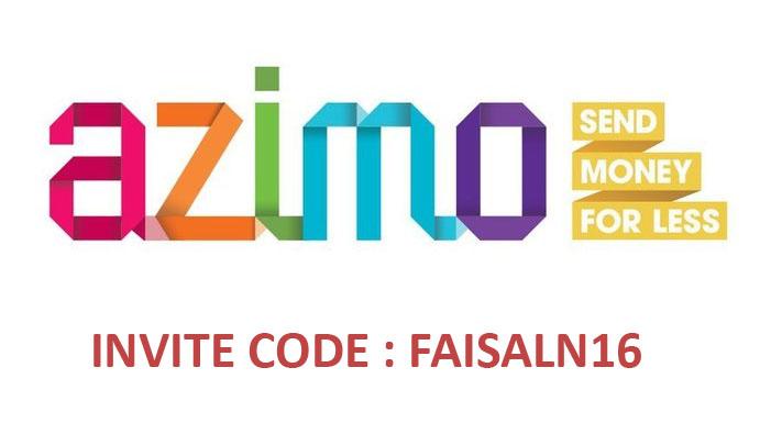 Azimo Invite Code: FAISALN16