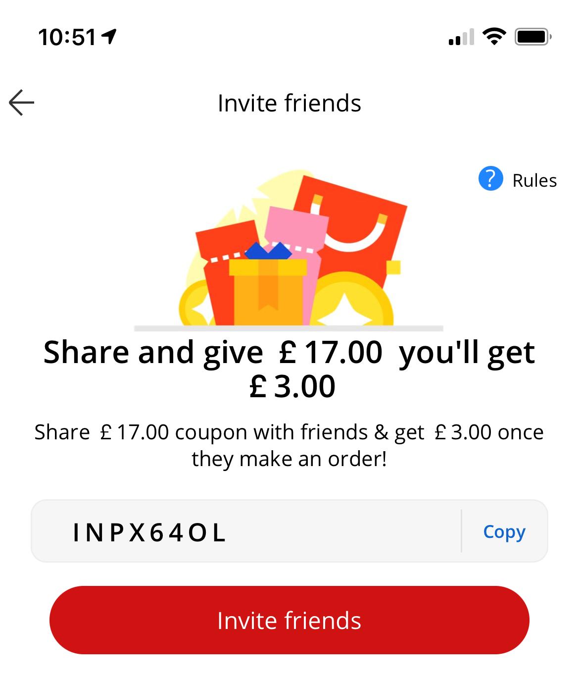 alixpress invite code